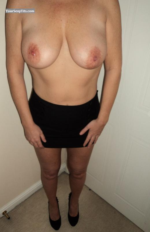 Tit Flash: Medium Tits - Lucy from United Kingdom